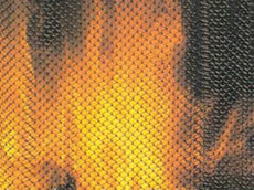 Zinc Plated Mesh Fireplace Mats