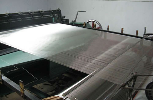 Weaving Looms for 316 Wire Mesh