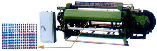 Machine for Weaving Stainless Steel Window Screening against Insects